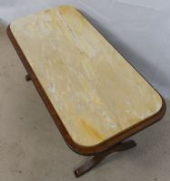 Marble Top Coffee Table by Reprodux
